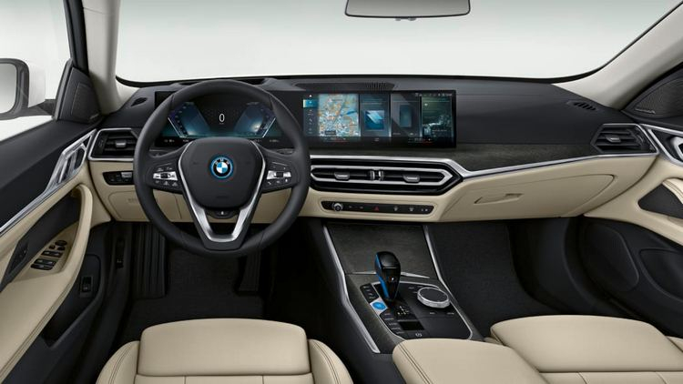 "BMW раскрыла характеристики электрического седана i4 2022 года— мощные двигатели и запас хода до 500 км"""