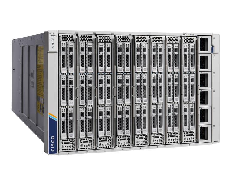Шасси Cisco UCS X9508