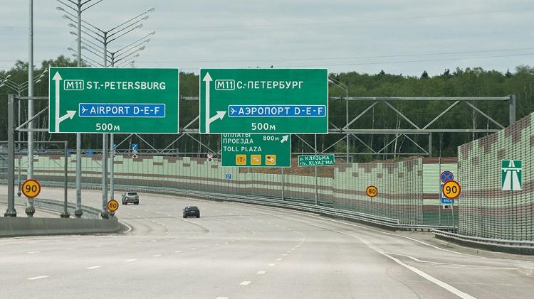 На трассе между Москвой и Санкт-Петербургом в следующем году начнут тестировать беспилотные грузовики