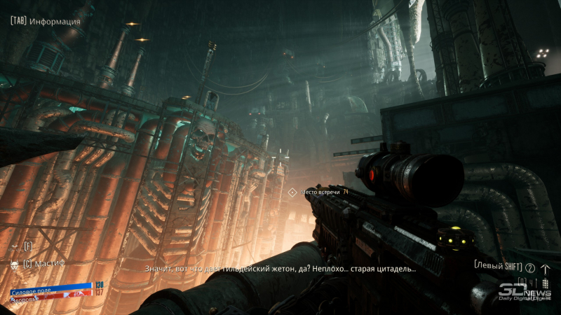 Атмосфера Warhammer 40,000 сочится с экрана в каждом втором кадре