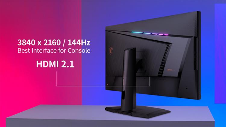 MSI представила для ПК и консолей три больших игровых монитора с частотой до 175 Гц