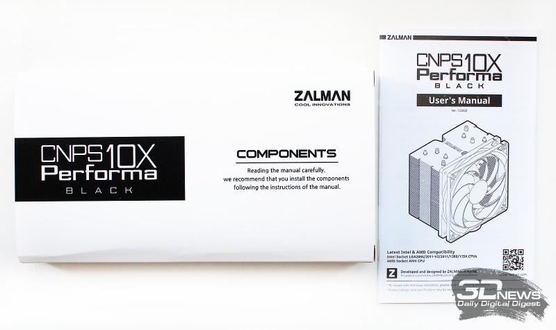 Обзор и тест процессорного кулера Zalman CNPS10X Performa Black: в духе времени5