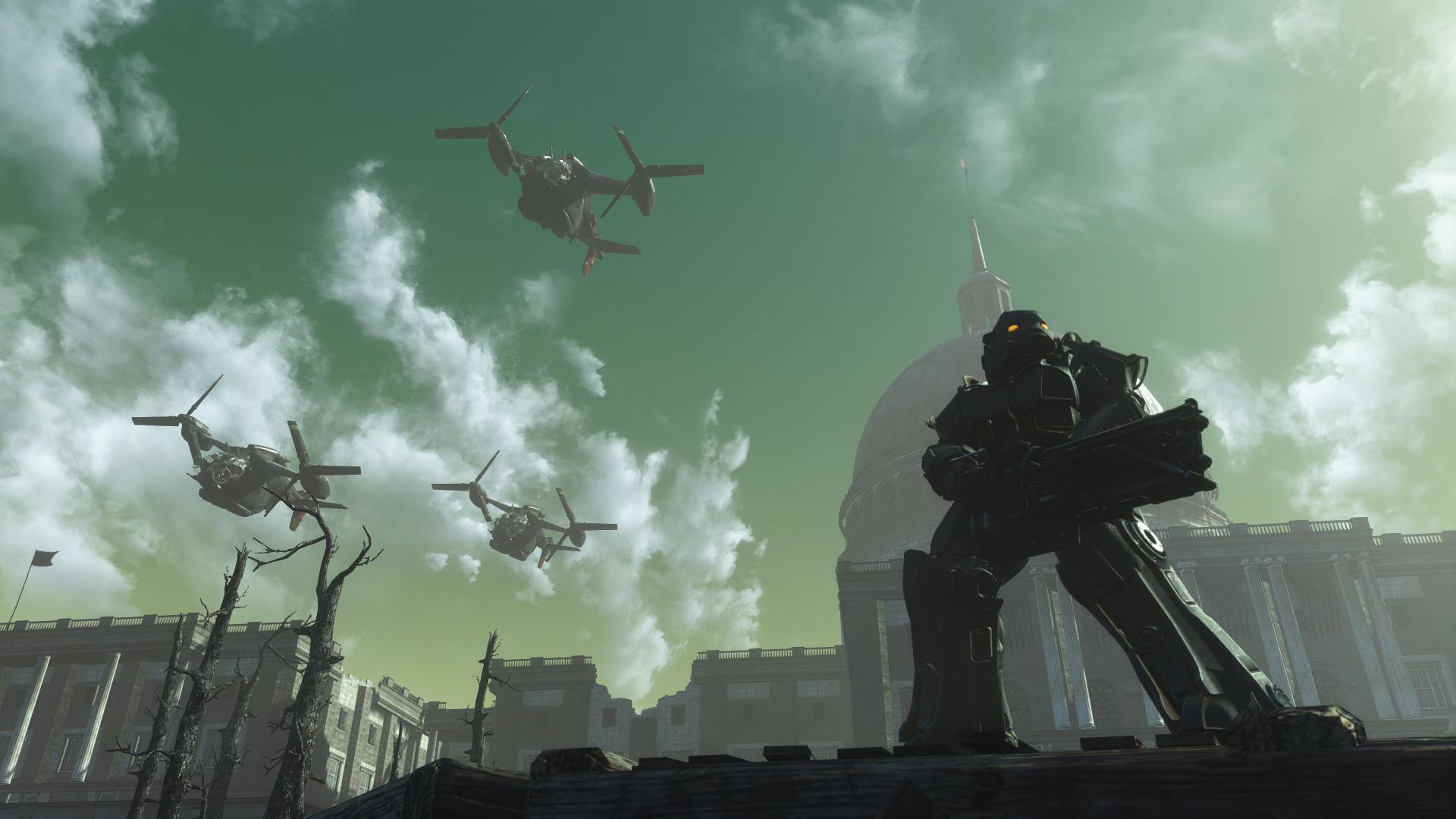 Видео: знакомые виды в новой геймплейной демонстрации фанатского ремастера Fallout 3 на движке Fallout 4