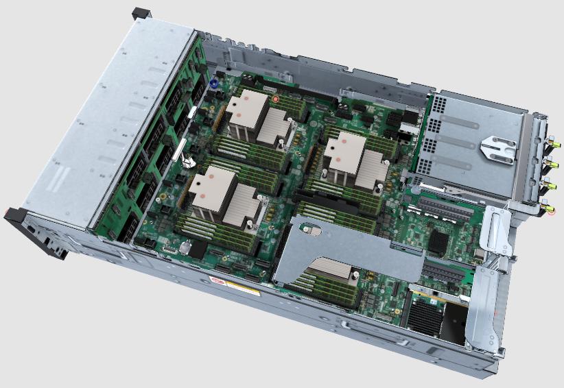 Шасси Huawei Atlas 800 (модель: 9000)