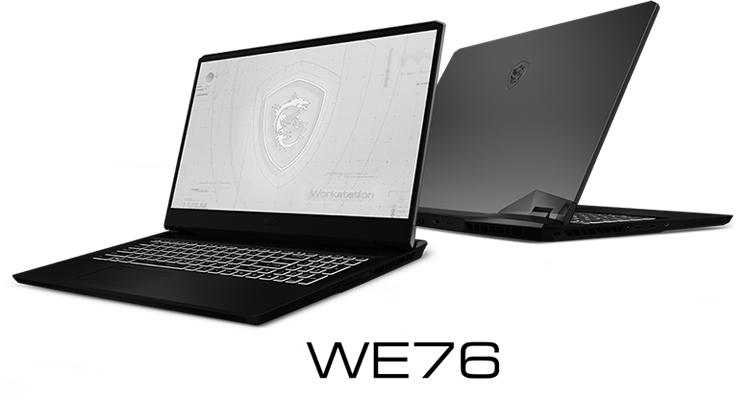 """MSI представила ноутбуки WE76, WF76 и WF66 с профессиональной графикой NVIDIA"""""""