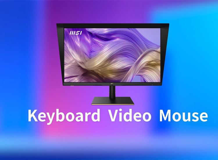 Монитор MSI Summit MS321UP оснащён переключателем KVM1