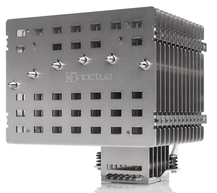 Noctua наконец выпустила огромный пассивный кулер NH-P1— полтора килограмма алюминия и меди за $100
