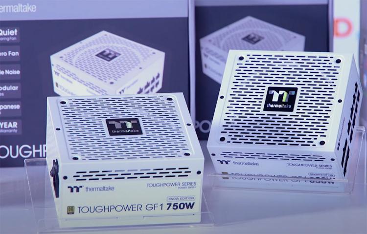 Представлены белые блоки питания Thermaltake Toughpower GF1 Snow Gold мощностью до 850 Вт
