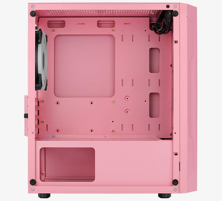 Корпус Aerocool Trinity Mini Pink получил необычное цветовое исполнение