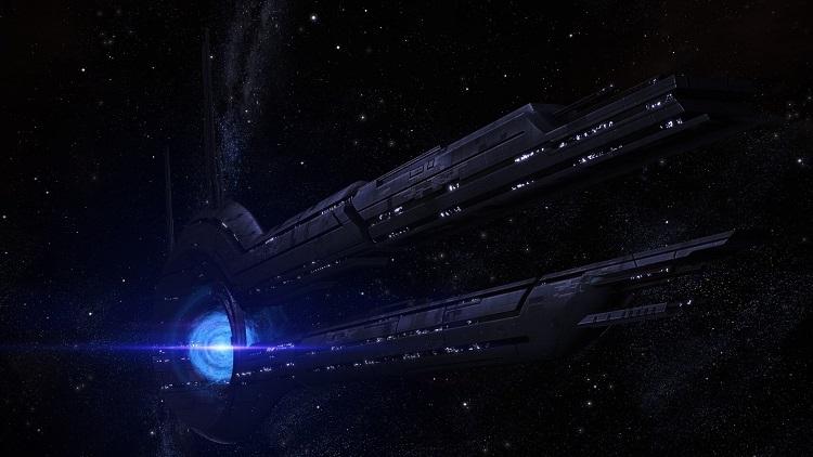 На экранах загрузки с ретранслятором в ремастере первой Mass Effect была снижена громкость