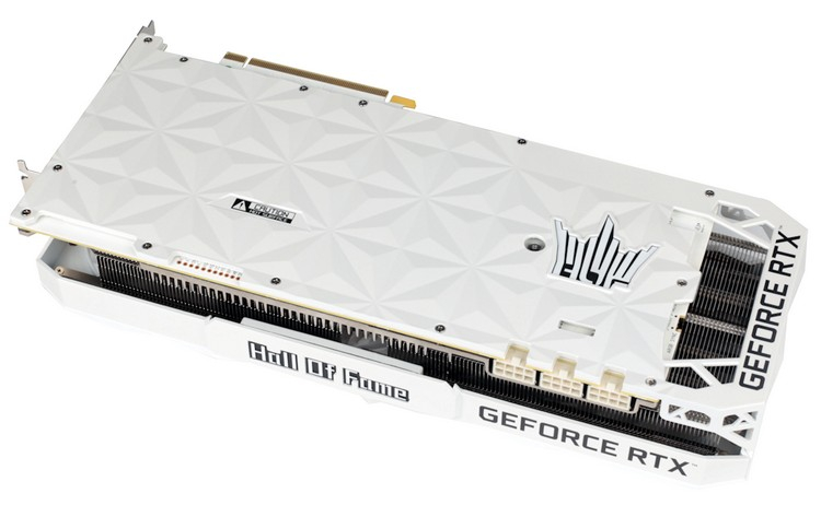 Galax показала свою самую мощную GeForce RTX 3080 Ti — модель Hall of Fame OC Lab Edition3