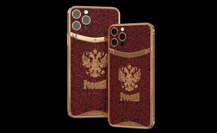 Caviar создала ко Дню России iPhone 12 Pro со встроенными механическими часами и другие модели