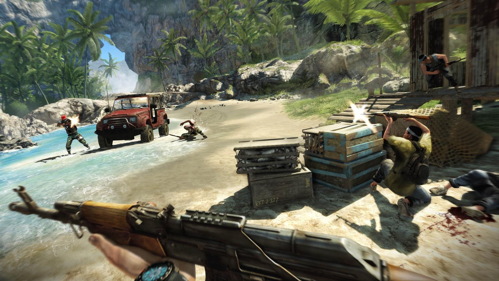 В Ubisoft Store началась распродажа игр серии Far Cry и разных изданий Ghost Recon Breakpoint со скидками до 85 %