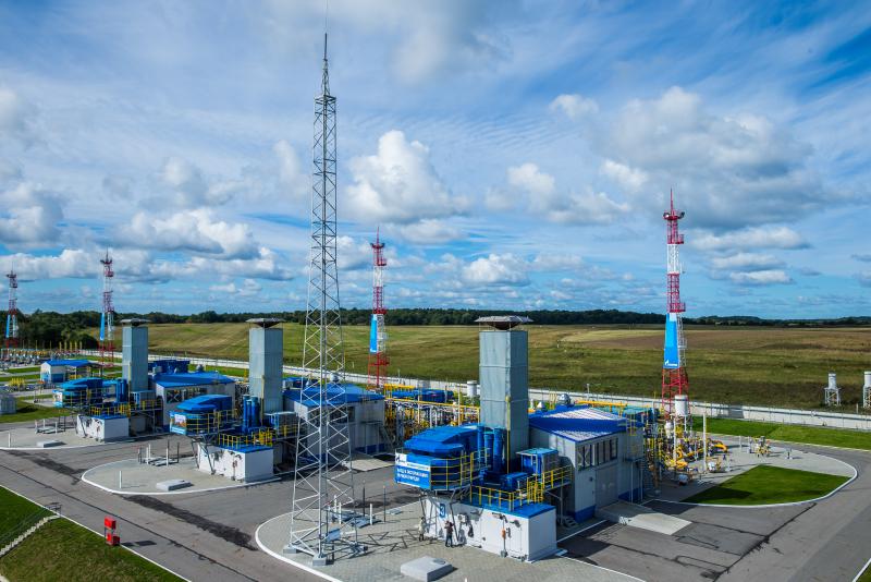 Gazprom: Kaliningradskoye UGS facility