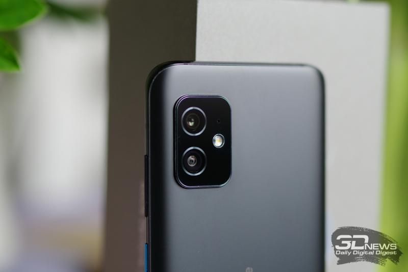 ASUS Zenfone 8, камеры
