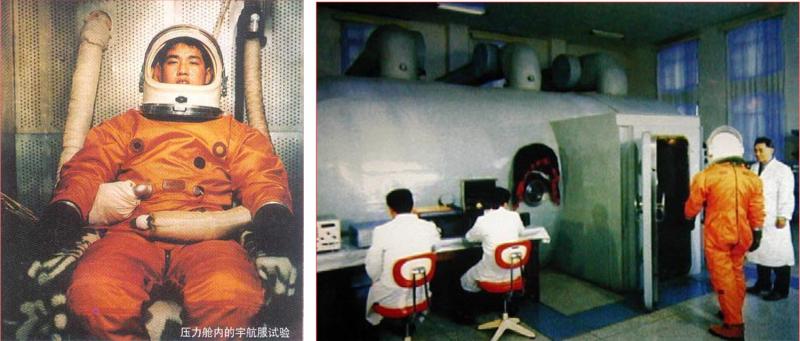 Иллюстрации к репортажу об испытаниях высотного скафандра, опубликованные в прессе, западные эксперты принимали за доказательства подготовки китайский космонавтов к полету. Источник: https://www.go-taikonauts.com/images/newsletters_PDF/GoTaikonauts1.pdf