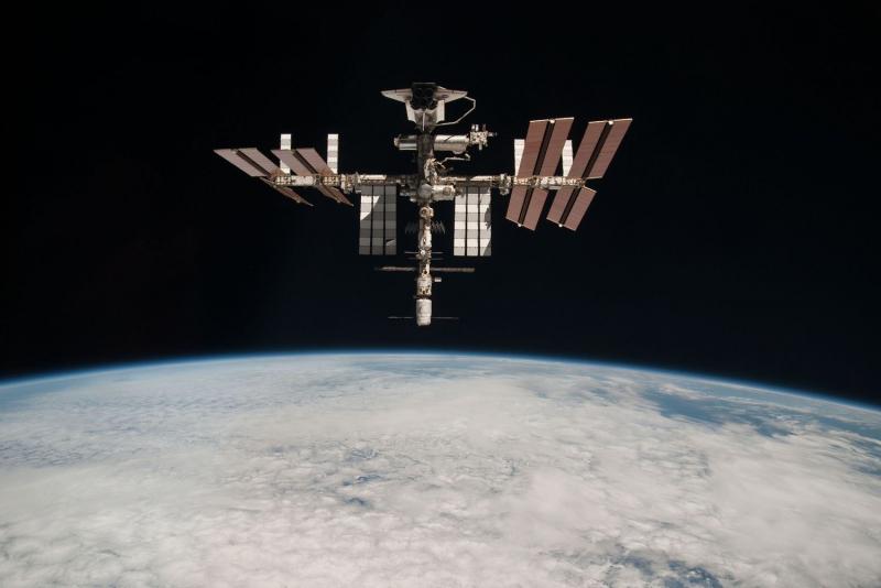 Поправка о Вольфа запрещает доступ Китая к американскому сегменту МКС. Фото NASA