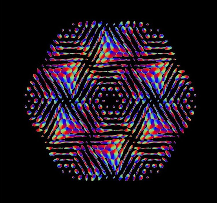 Собственная мода кремниевого фотонно-кристаллического слоя. Источник изображения: Сколтех