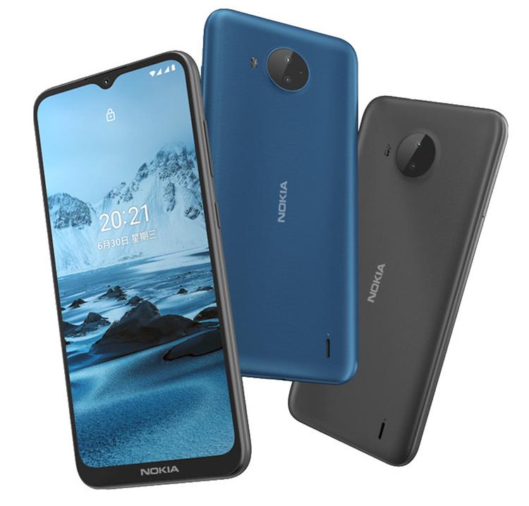 Недорогой смартфон Nokia C20 Plus на базе Android 11 Go Edition оснащён двойной камерой