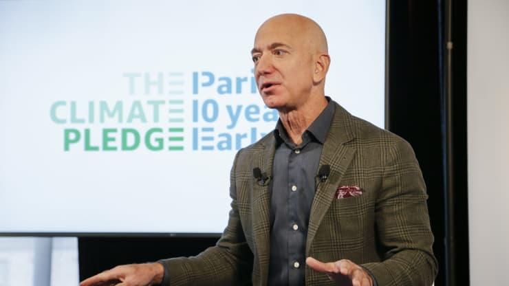 Глава Amazon Джефф Безос (Jeff Bezos)     Источник: Paul Morigi / Getty Images / Amazon