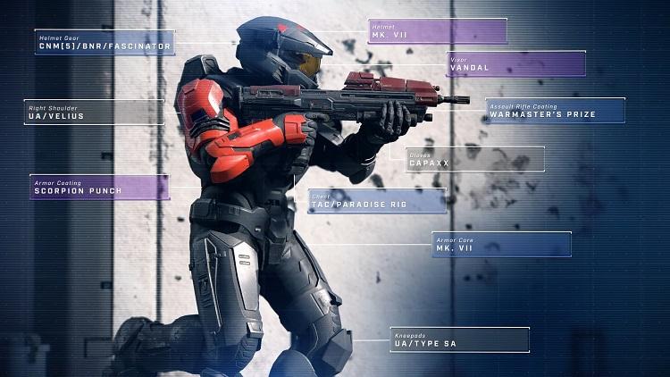 На запуске в Halo Infinite будут «миллионы комбинаций» косметических предметов для спартанцев