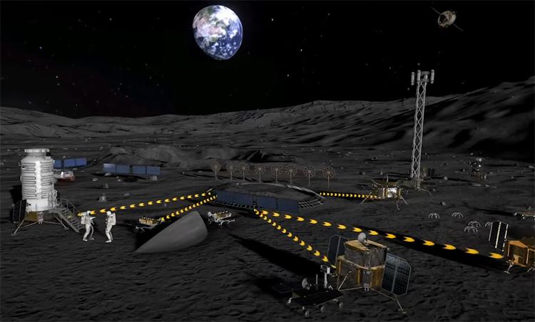 """Россия и Китай начнут создание международной лунной станции в 2026 году"""""""