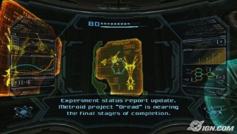 Упоминание Dread в Metroid Prime 3. Источник: IGN