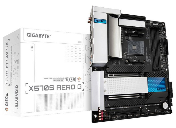"""Gigabyte представила обновлённые материнские платы на AMD X570 с пассивным охлаждением"""""""