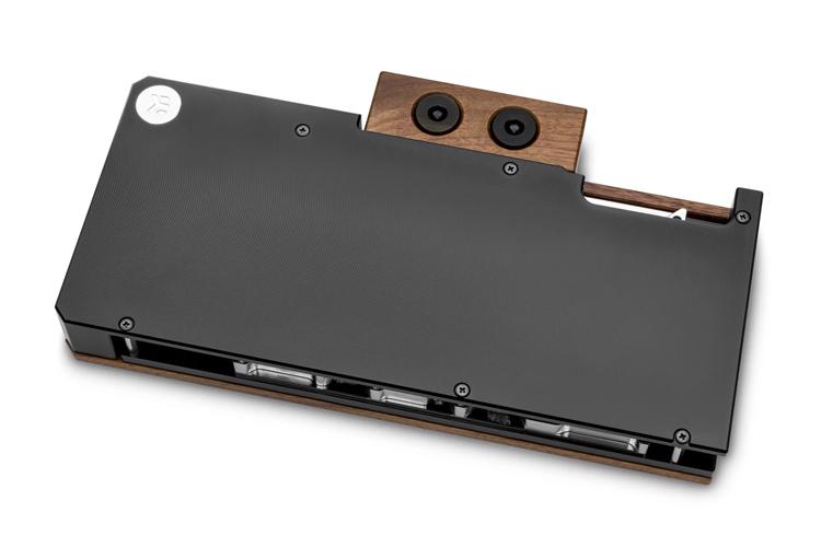 Водоблок EK Lignum для видеокарт NVIDIA GeForce RTX 3080/3090 получил отделку из дерева3