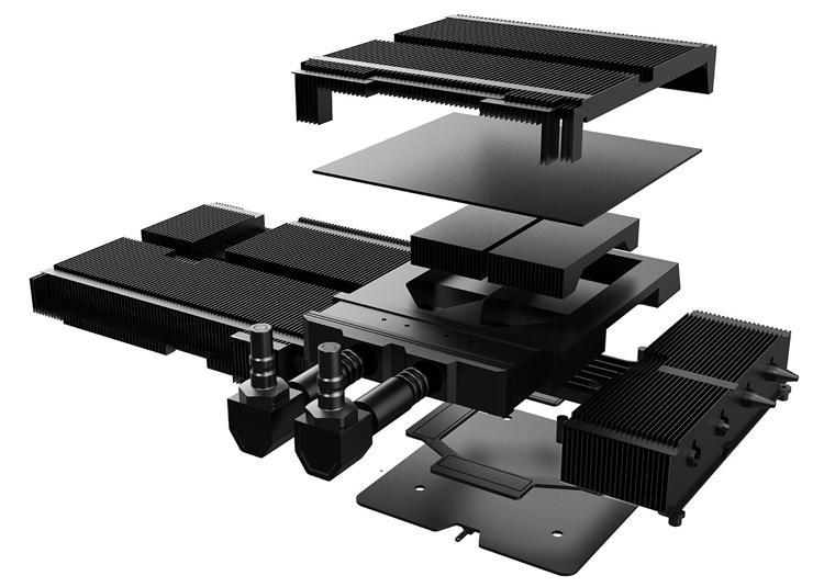 Colorful представила самую дорогую GeForce RTX 3090 — уникальная iGame Kudan с гибридным охлаждением оценена в $50002