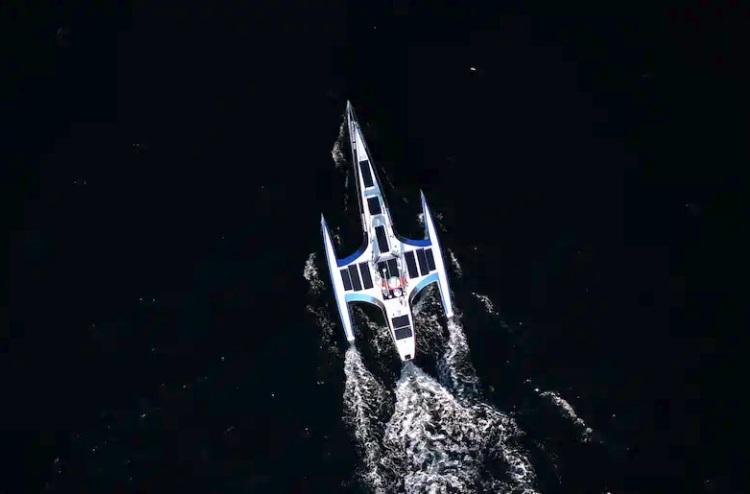 Автономный тримаран Mayflower / Изображение: IBM