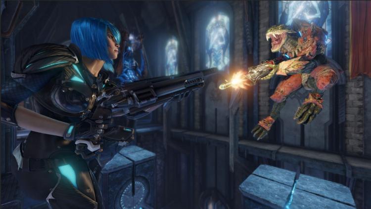 Quake Champions, источник изображения: Steam