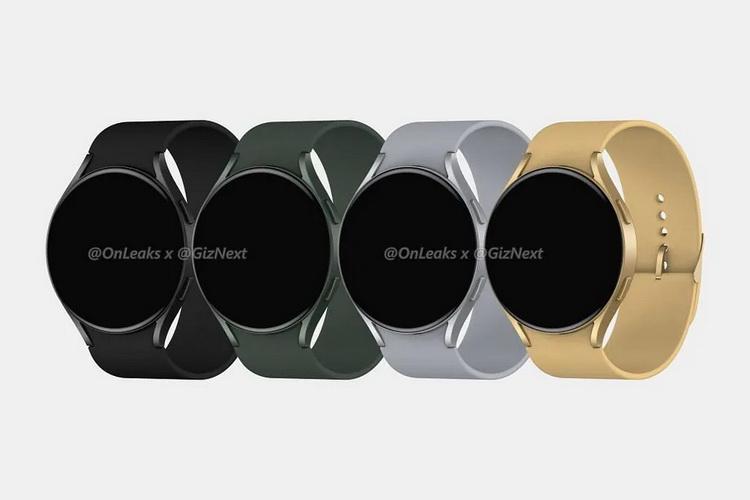 Смарт-часы Samsung Galaxy Watch Active 4 показались на рендерах со свежим дизайном