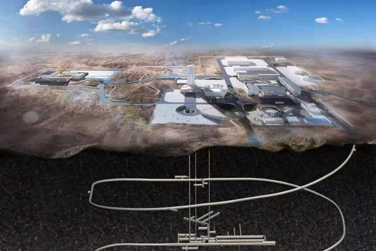 В Китае отработвшее ядерное топливо будет сбрасываться под змлю. Источник изображения: SCMP
