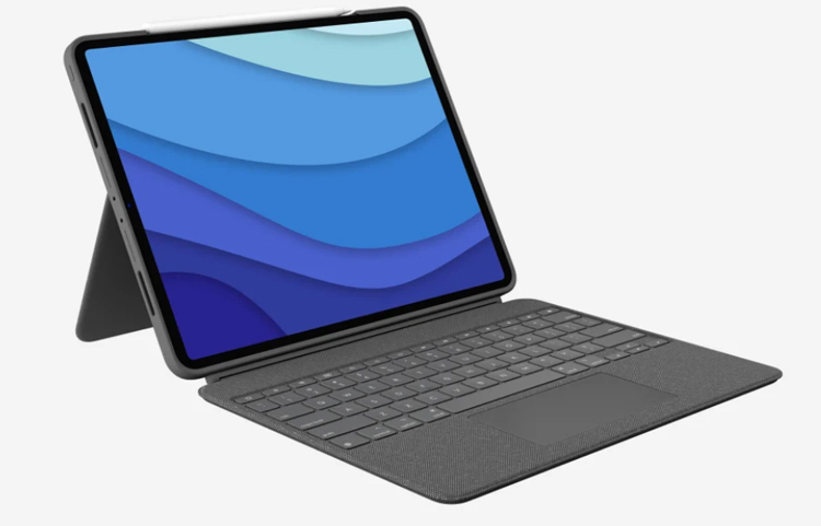 "Logitech представила Combo Touch — обложку с клавиатурой и тачпадом для iPad Air 4 по цене $200"""