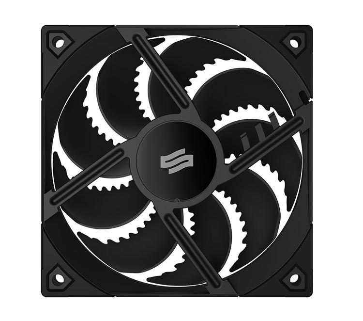 Представлен корпусный вентилятор SilentiumPC Fluctus 120 PWM с зазубренными лопастями