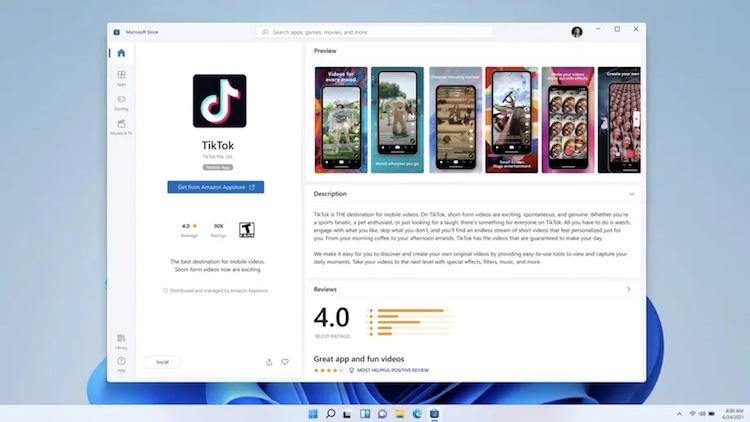 Windows 11 сможет запускать Android-приложения— они будут доступны прямо в Microsoft Store