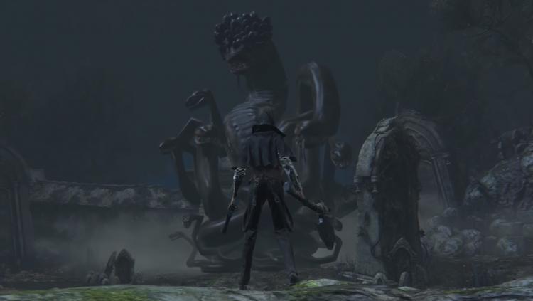 Ранняя версия Змеиного кома, источник изображения: Bloodborne Wiki