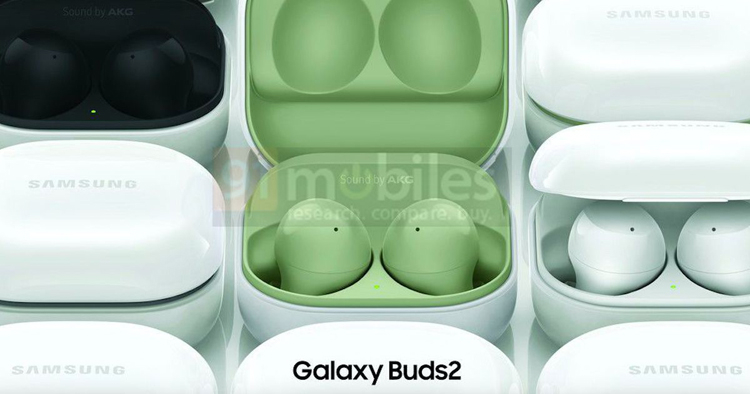 Пресс-рендеры раскрыли дизайн и цвета беспроводных наушников Samsung Galaxy Buds 2