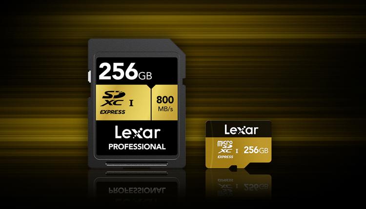 Здесь и ниже изображения Lexar