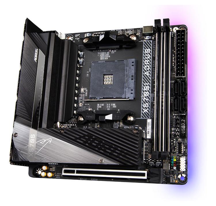 """Gigabyte готовит Mini-ITX плату X570SI Aorus Pro AX для процессоров Ryzen"""""""