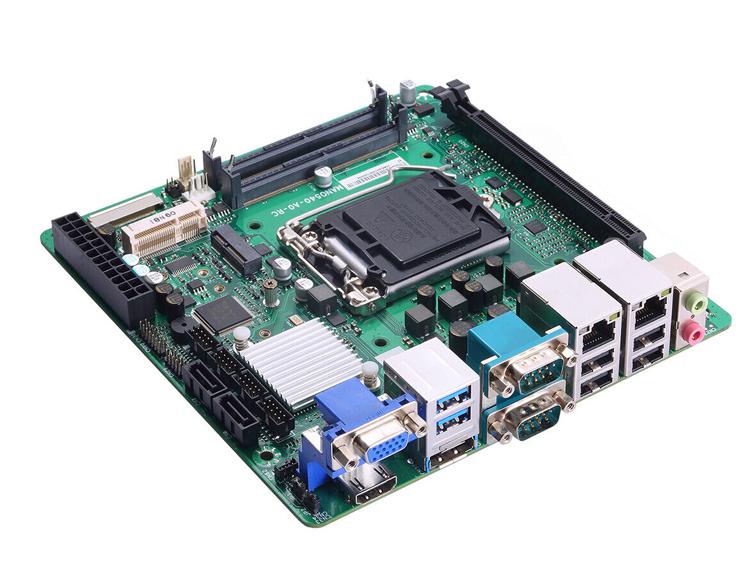 "Плата Axiomtek MANO540 формата Mini-ITX оснащена процессором Intel"""