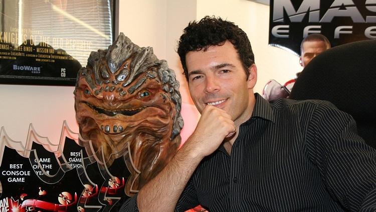 Кейси Хадсон времён работы над Mass Effect 3 (источник изображения: IGN)