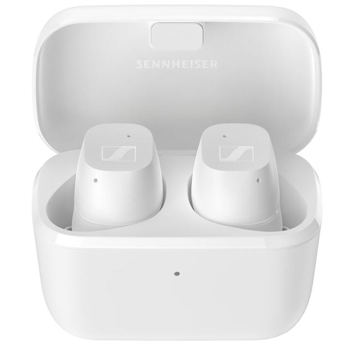 Полностью беспроводные наушники Sennheiser CX True Wireless обеспечивают до 27 часов музыки
