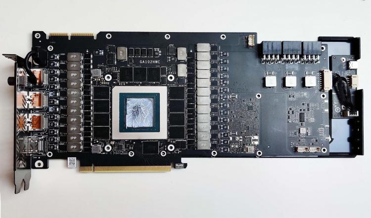Печатная плата Colorful GeForce RTX 3090 iGame Vulcan OC