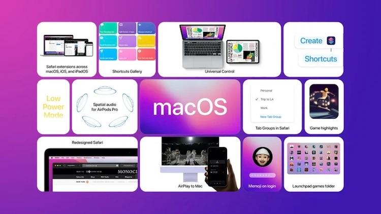 Apple выпустила первую публичную бета-версию macOS 12 Monterey