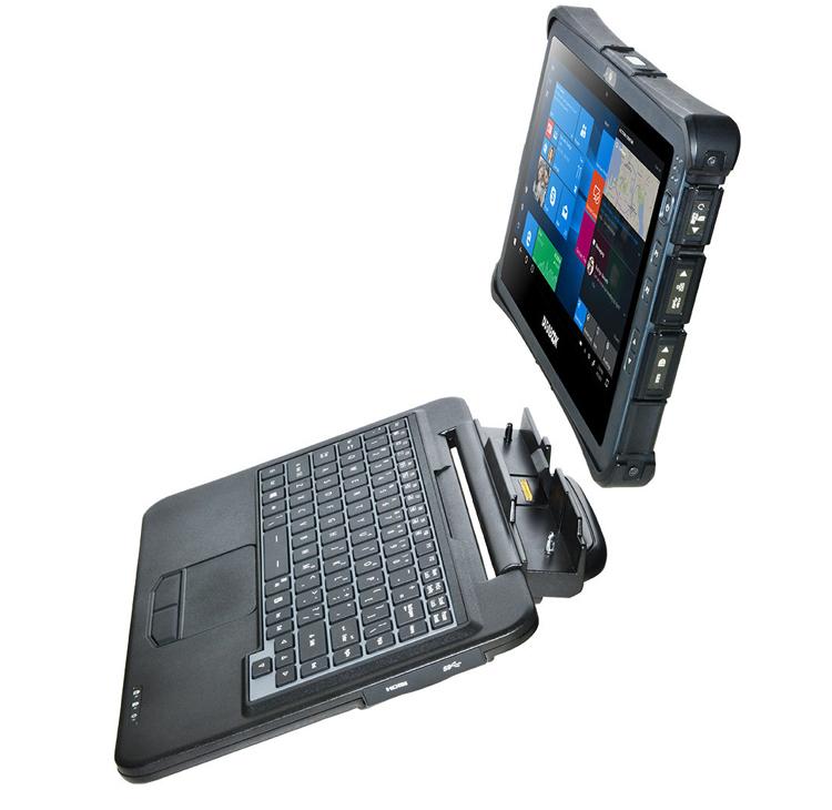 """Всепогодный планшет Durabook U11 на базе Windows 10 Pro оснащён 11,6"""" дисплеем"""