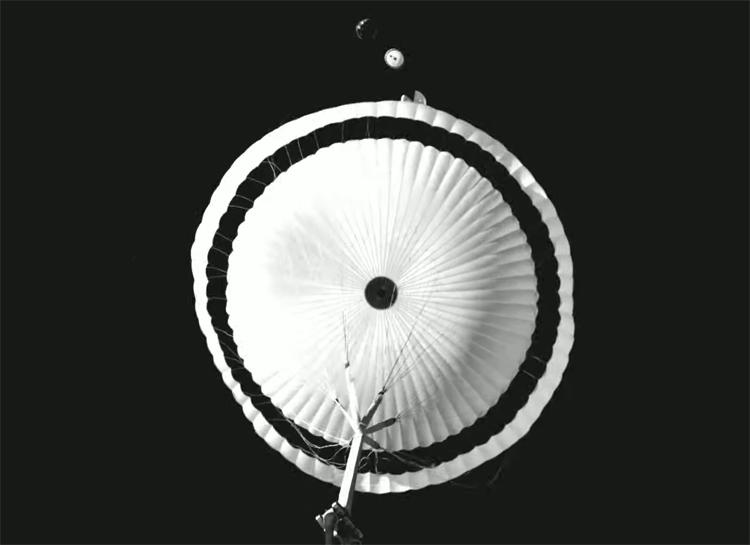 """Высотные испытания парашютной системы ExoMars 2022 впервые прошли успешно"""""""