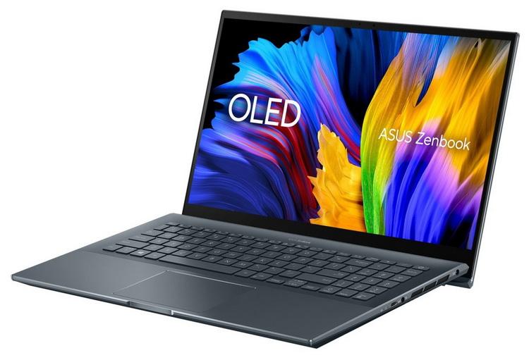 """ASUS выпустит обновлённый ZenBook 15 с экраном 4K OLED, процессорами Ryzen 5000H и графикой GeForce RTX 3050 Ti"""""""