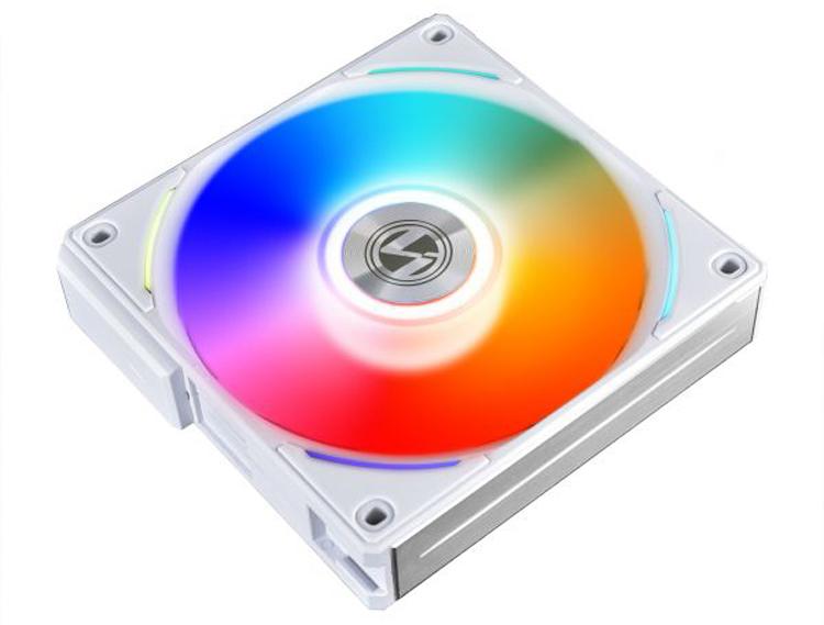 Вентилятор Lian Li Uni Fan AL120 оснащён необычной подсветкой